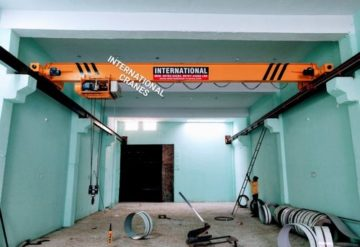 E.O.T Single Girder Cranes