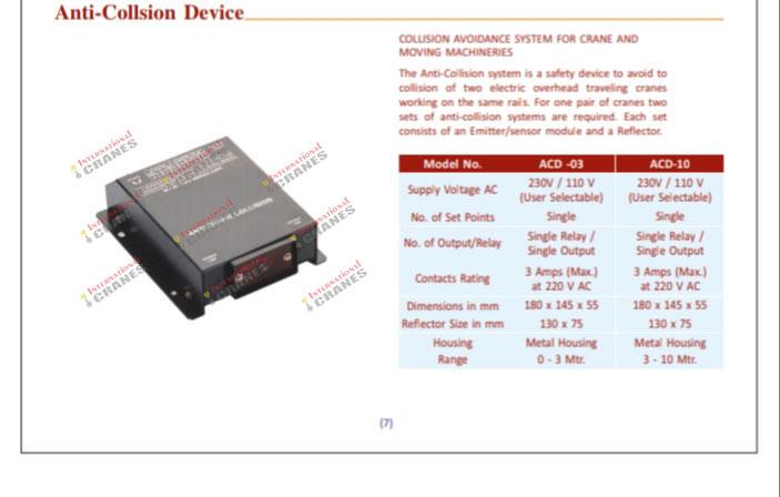 Anti Collison Device