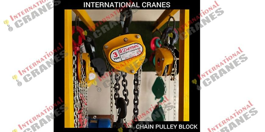 Manual Chain Pulley Block
